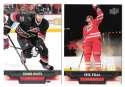 2013-14 Upper Deck (Base) Hockey Team Set - Carolina Hurricanes