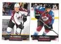 2013-14 Upper Deck (Base) Hockey Team Set - Colorado Avalanche