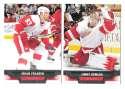 2013-14 Upper Deck (Base) Hockey Team Set - Detroit Red Wings