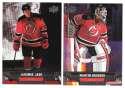 2013-14 Upper Deck (Base) Hockey Team Set - New Jersey Devils