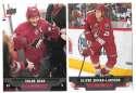 2013-14 Upper Deck (Base) Hockey Team Set - Phoenix Coyotes