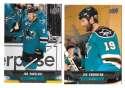 2013-14 Upper Deck (Base) Hockey Team Set - San Jose Sharks