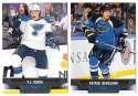 2013-14 Upper Deck (Base) Hockey Team Set - St. Louis Blues