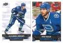 2013-14 Upper Deck (Base) Hockey Team Set - Vancouver Canucks
