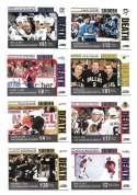 2010-11 Score Hockey Sudden Death 12 Card Set