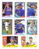 2017 Topps Archives - CHICAGO CUBS Team Set