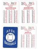 1912 New York Giants - APBA World Series Greatest Teams