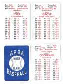 1930 Philadelphia A's - APBA World Series Greatest Teams