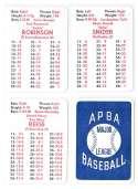 1952 Brooklyn Dodgers - APBA World Series Greatest Teams