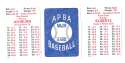 1948 APBA Season - PHILADELPHIA PHILLIES Team Set