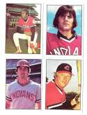 1976 SSPC - CLEVELAND INDIANS Team Set