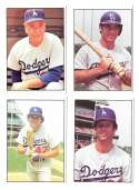 1976 SSPC - LOS ANGELES DODGERS Team Set