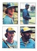 1976 SSPC - MILWAUKEE BREWERS Team Set