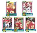 1990 Topps Traded Football - KANSAS CITY CHIEFS
