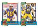 1990 Topps Traded Football - LOS ANGELES RAMS