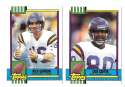 1990 Topps Traded Football - MINNESOTA VIKINGS