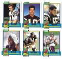 1990 Topps Traded Football - SAN DIEGO CHARGERS