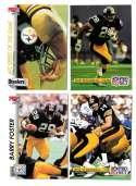 1992 Pro Set Football Team Set - PITTSBURGH STEELERS