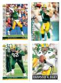 1993 Upper Deck Football Team Set - GREEN BAY PACKERS