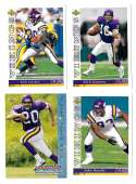 1993 Upper Deck Football Team Set - MINNESOTA VIKINGS