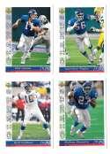 1993 Upper Deck Football Team Set - NEW YORK GIANTS