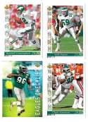 1993 Upper Deck Football Team Set - PHILADELPHIA EAGLES