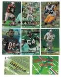 1993 Upper Deck Rookie Exchange Football 8 card set