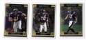 2006 Topps Chrome (1-270) Football Team Set - BALTIMORE RAVENS
