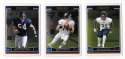 2006 Topps Chrome (1-270) Football Team Set - CHICAGO BEARS