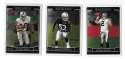 2006 Topps Chrome (1-270) Football Team Set - OAKLAND RAIDERS