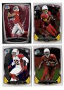 2014 Bowman Chrome Football Team Set - ARIZONA CARDINALS