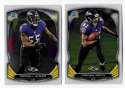 2014 Bowman Chrome Football Team Set - BALTIMORE RAVENS
