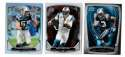 2014 Bowman Chrome Football Team Set - CAROLINA PANTHERS