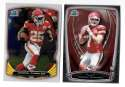 2014 Bowman Chrome Football Team Set - KANSAS CITY CHIEFS