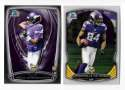 2014 Bowman Chrome Football Team Set - MINNESOTA VIKINGS