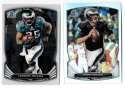 2014 Bowman Chrome Football Team Set - PHILADELPHIA EAGLES