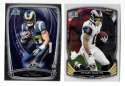 2014 Bowman Chrome Football Team Set - ST. LOUIS RAMS