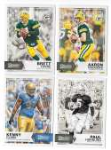 2016 Panini Classics (1-300) Football Team Set - GREEN BAY PACKERS