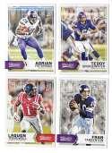 2016 Panini Classics (1-300) Football Team Set - MINNESOTA VIKINGS