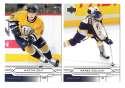 2004-05 Upper Deck Base (1-180) Hockey Team Set - Nashville Predators