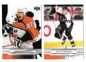 2004-05 Upper Deck Base (1-180) Hockey Team Set - Philadelphia Flyers