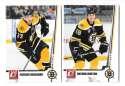 2010-11 Donruss (1-250) Hockey Team Set - Boston Bruins