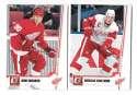 2010-11 Donruss (1-250) Hockey Team Set - Detroit Red Wings