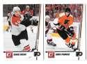 2010-11 Donruss (1-250) Hockey Team Set - Philadelphia Flyers