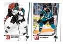 2010-11 Donruss (1-250) Hockey Team Set - San Jose Sharks
