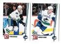 2010-11 Donruss (1-250) Hockey Team Set - Vancouver Canucks