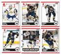 2010-11 Score (1-550) Hockey Team Set - Buffalo Sabres