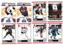 2010-11 Score (1-550) Hockey Team Set - Colorado Avalanche