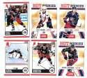2010-11 Score (1-550) Hockey Team Set - Columbus Blue Jackets