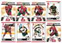 2010-11 Score (1-550) Hockey Team Set - Minnesota Wild
